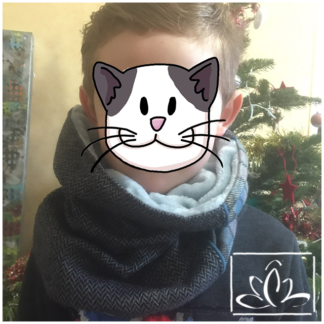 Snood Patchwork Chic